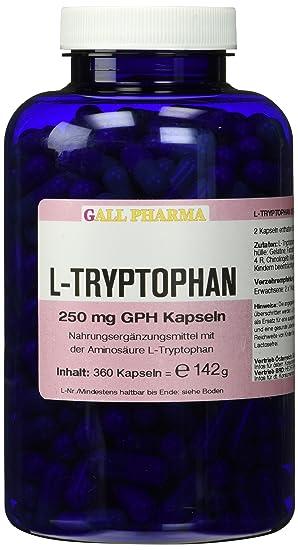 Gall Pharma L-Tryptophan 250 mg GPH Kapseln 360 Stuck