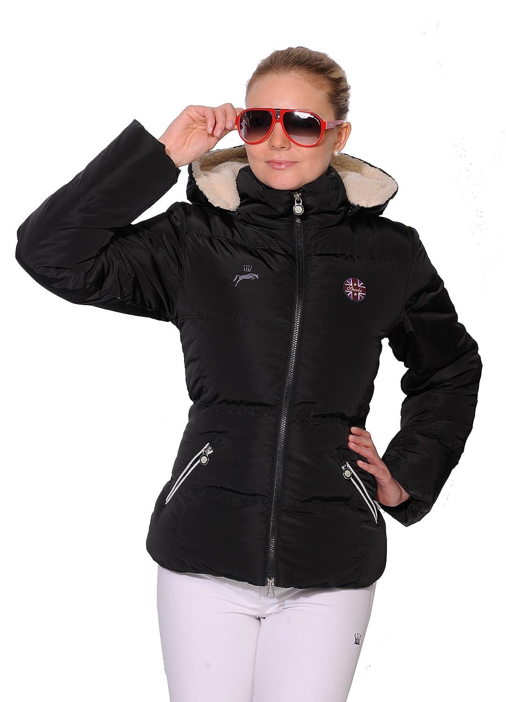 Spooks Jacke Finya Teddy Jacket black XS-XXL