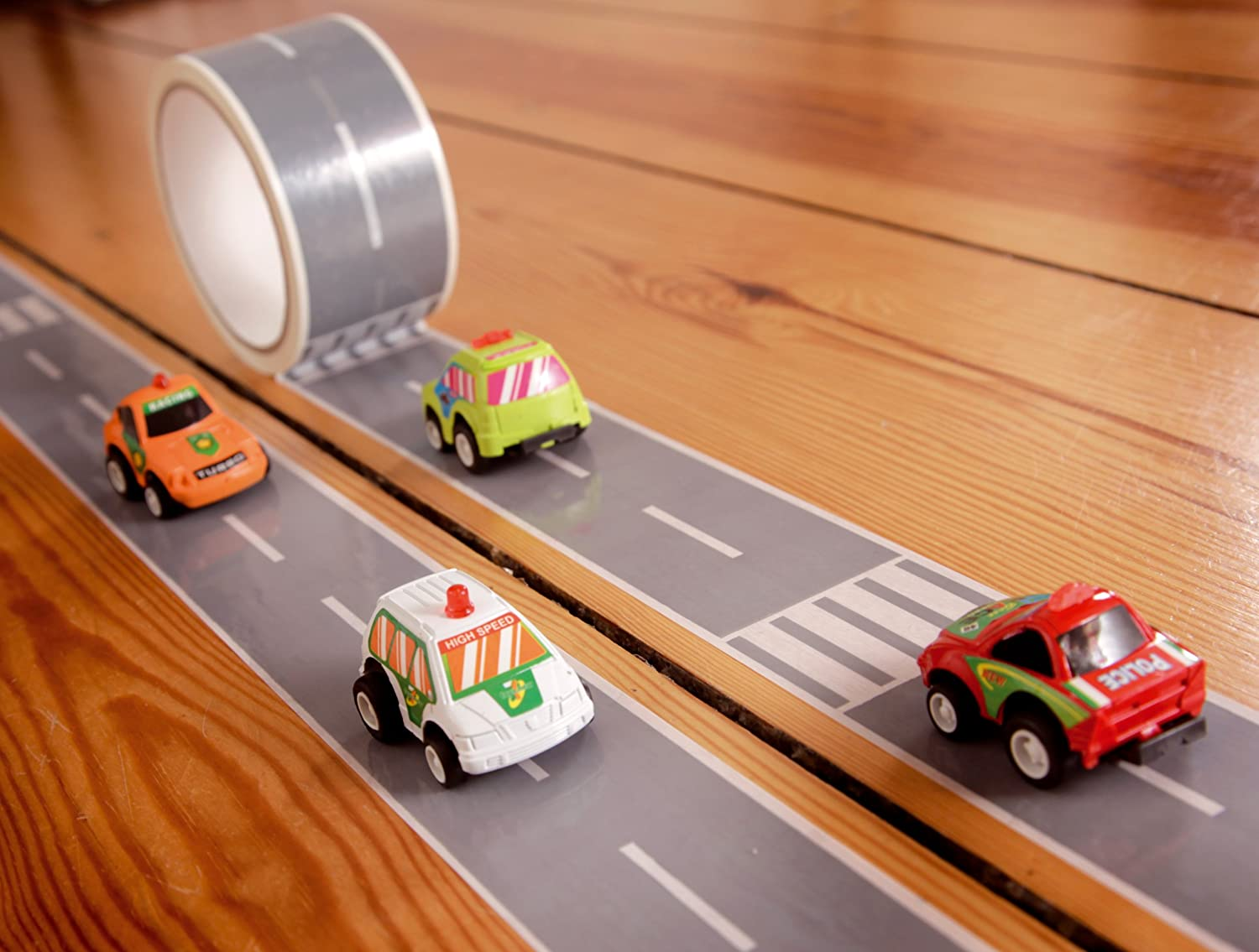 Create a Road Tape with Toy Car Playset, My First Autobahn, cool toys for boys