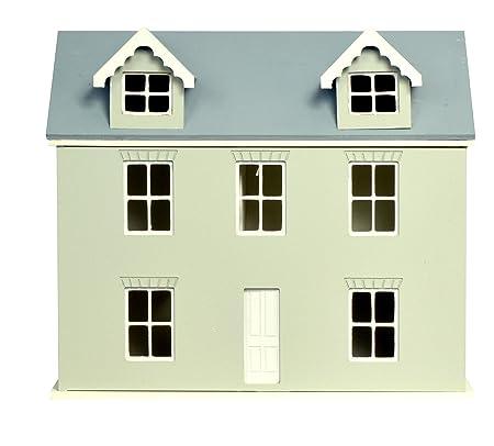 1:24 échelle Maison De Poupées Kit prêt à assembler non peinte Paquet Plat Cottage MJ17