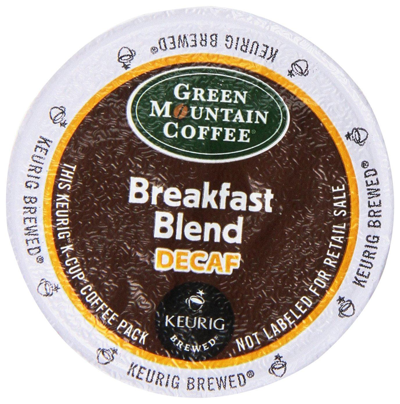 decaf breakfast blend light roast coffee k cup portion ebay. Black Bedroom Furniture Sets. Home Design Ideas