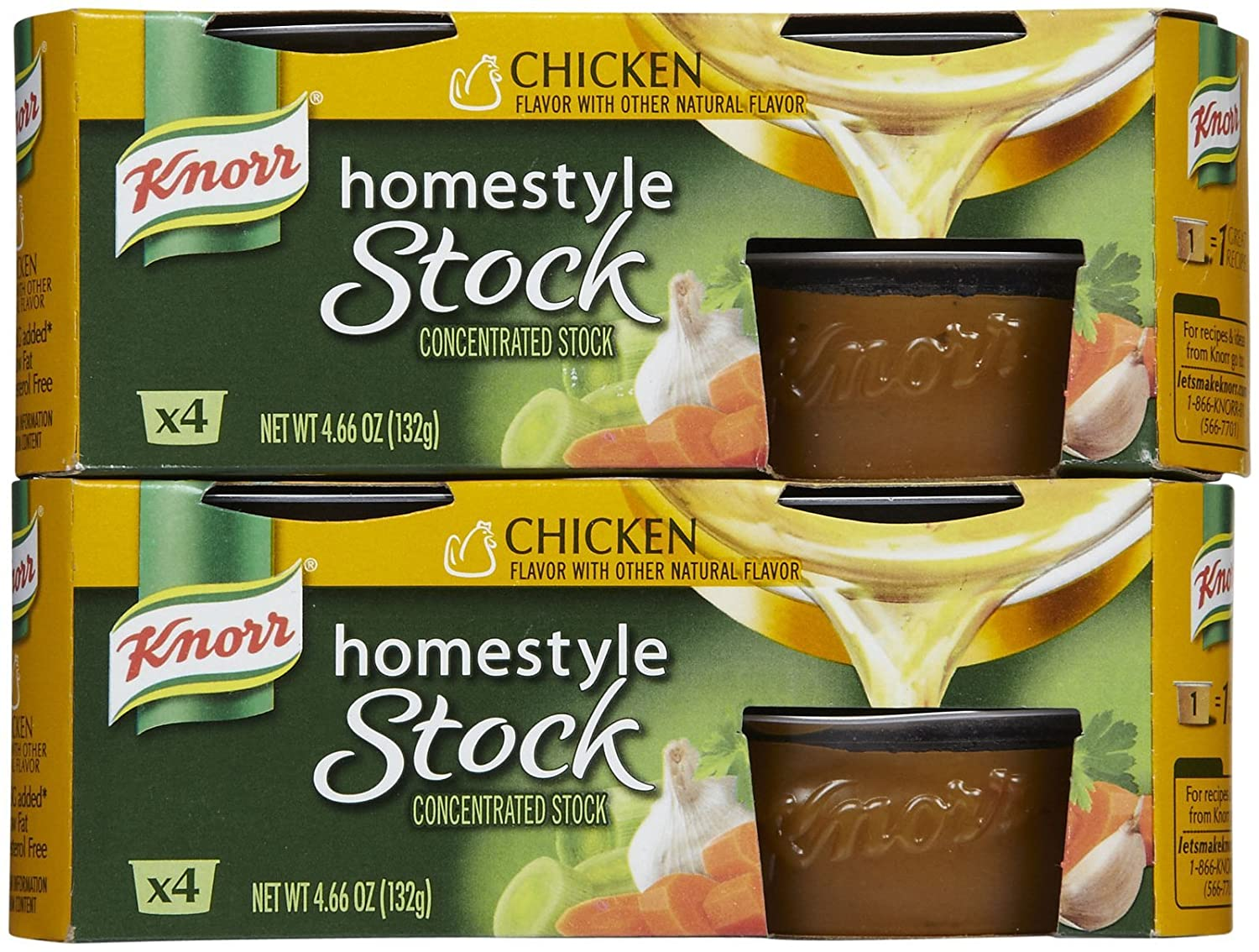 Knorr Homestyle Chicken Stock Nutrition Knorr Homestyle Chicken Stock