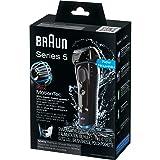 Braun Series 5 5040S Men's Electric Razor / Electric Foil Shaver, Wet & Dry, Cordless & Rechargeable, Pop Up Precision Trimmer (Color: 5040s)