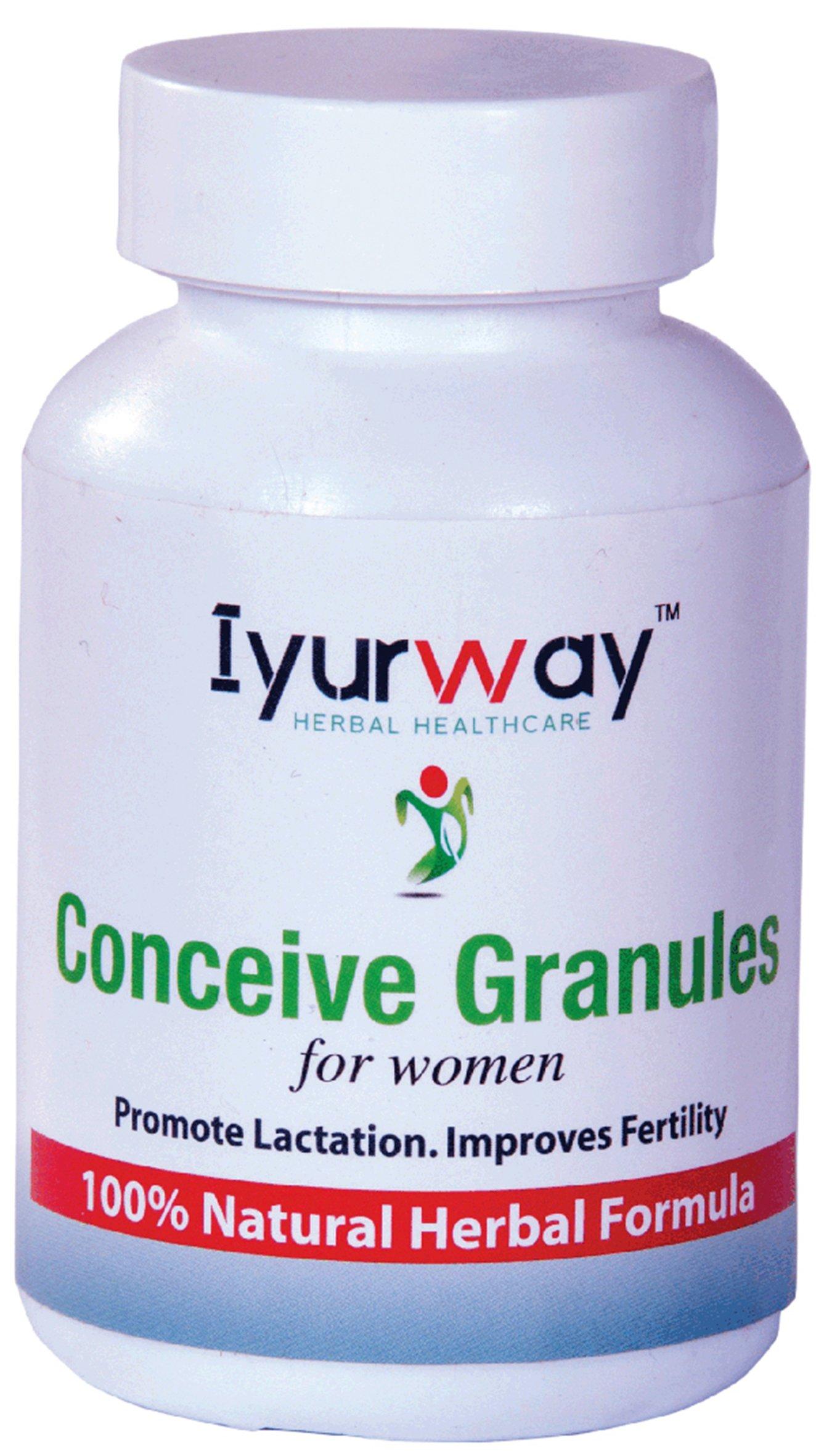 IYURWAY Herbal Healthcare IYURWAY Herbal Healthcare Conceive Granules for Women