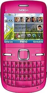 Nokia C300 Smartphone 2.4 Zoll pink  Kundenbewertung und Beschreibung