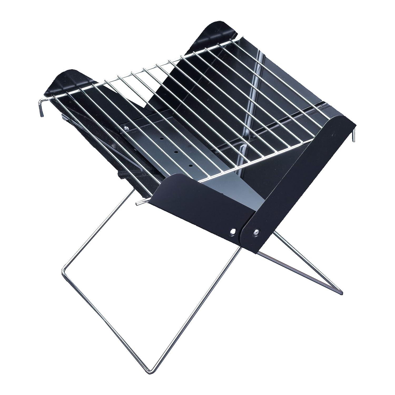 portable mini barbecue grill charcoal slim design bbq cook beach picnic camping ebay. Black Bedroom Furniture Sets. Home Design Ideas