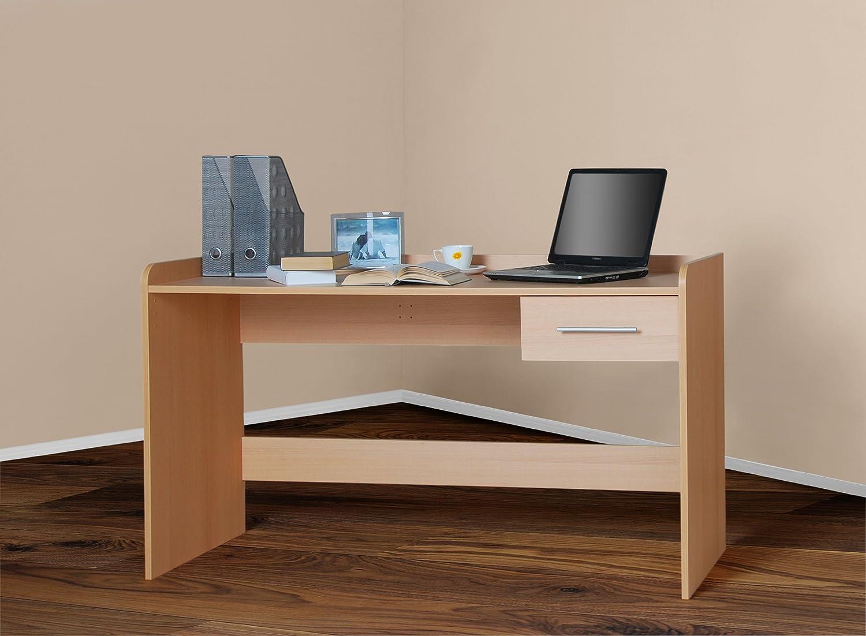 4510 -1- Kinderschreibtisch Schreibtisch, höhenverstellbar, 116cm breit (buche) bestellen
