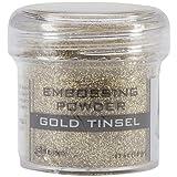 Ranger Embossing Powder, 1-Ounce Jar, Gold Tinsel (Color: Gold Tinsel)