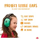 Ems for Kids Earmuffs - Silver. The Original Folding Children's Earmuff Since 2007. Use at Loud Events Including NASCAR, air Shows, Concerts, Festivals and More! … (Color: Silver)