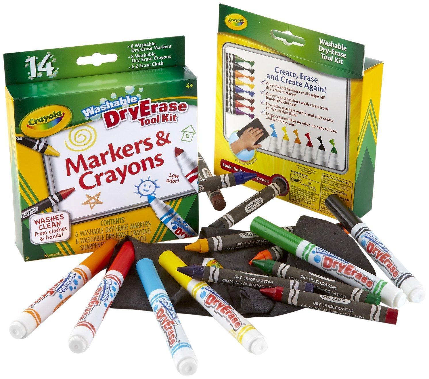 Crayola Dry Erase Markers Black Crayola Dry Erase Washable