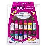 Tulip 40573 Palette Kit Brush-On Paint, 15 Piece, Multi (Color: Multi, Tamaño: 15 Piece Brush-On Paint Palette Kit)