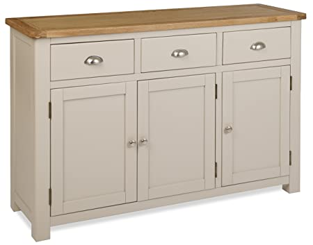 Portland Painted Oak 3 Door Sideboard