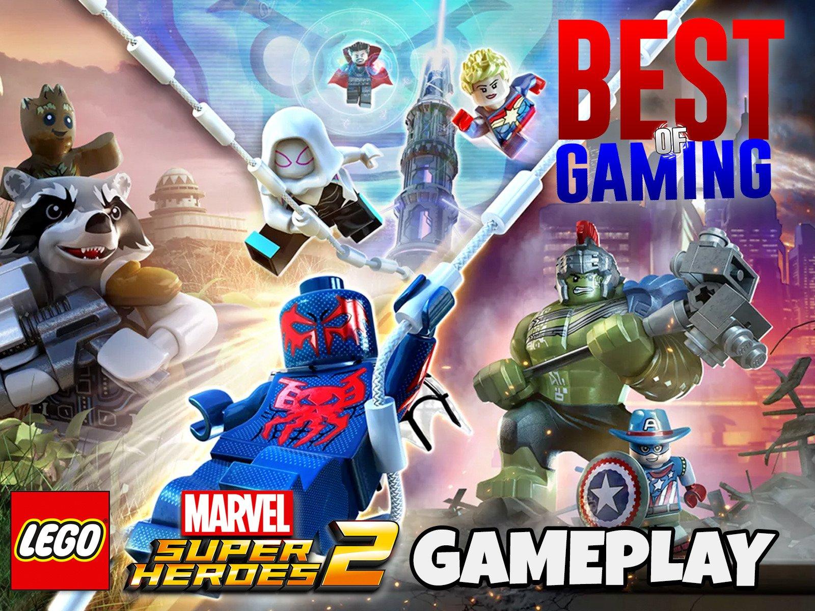 Clip: Lego Marvel Super Heroes 2 Gameplay - Season 1