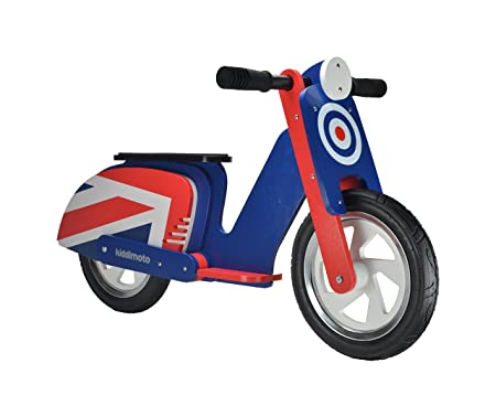 Kiddimoto - 916/408 - Vélo et Véhicule pour Enfant - Scooter Brit Pop
