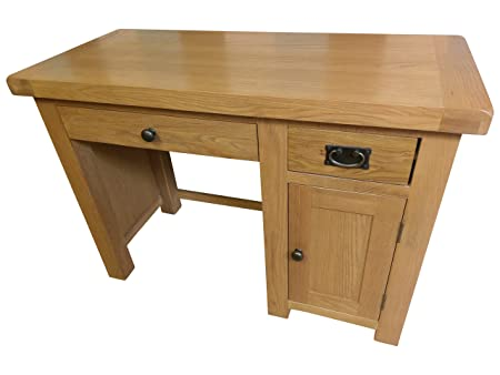 Kingsford Chunky Oak Single Computer Desk