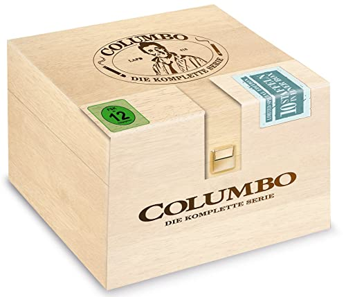 Columbo Holzbox Season 1-10 DVD