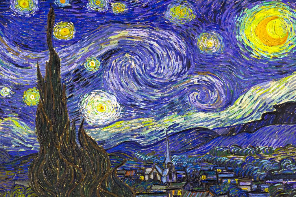 Amazon.com: Starry Night by Vincent Van Gogh Poster Print: Art ...