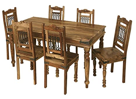 Jali Solid Sheesham Indian Rosewood 1.75M Dining Table / Solid Rosewood Dining Table ONLY / Dining Room Furniture