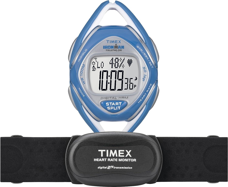 天美时 女款 Timex T5K569 Ironman Race Trainer Heart Rate铁人系列心率表 $54.99