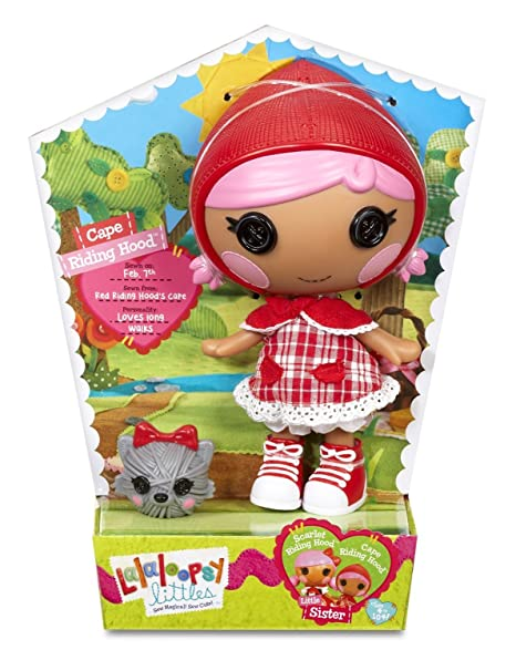 Lalaloopsy Littles – Cape Riding Hood – Poupée 18 cm