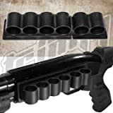 Trinity 6 Round 12 Gauge Shotshell Shell Holder for Maverick 88 (Color: BLACK)