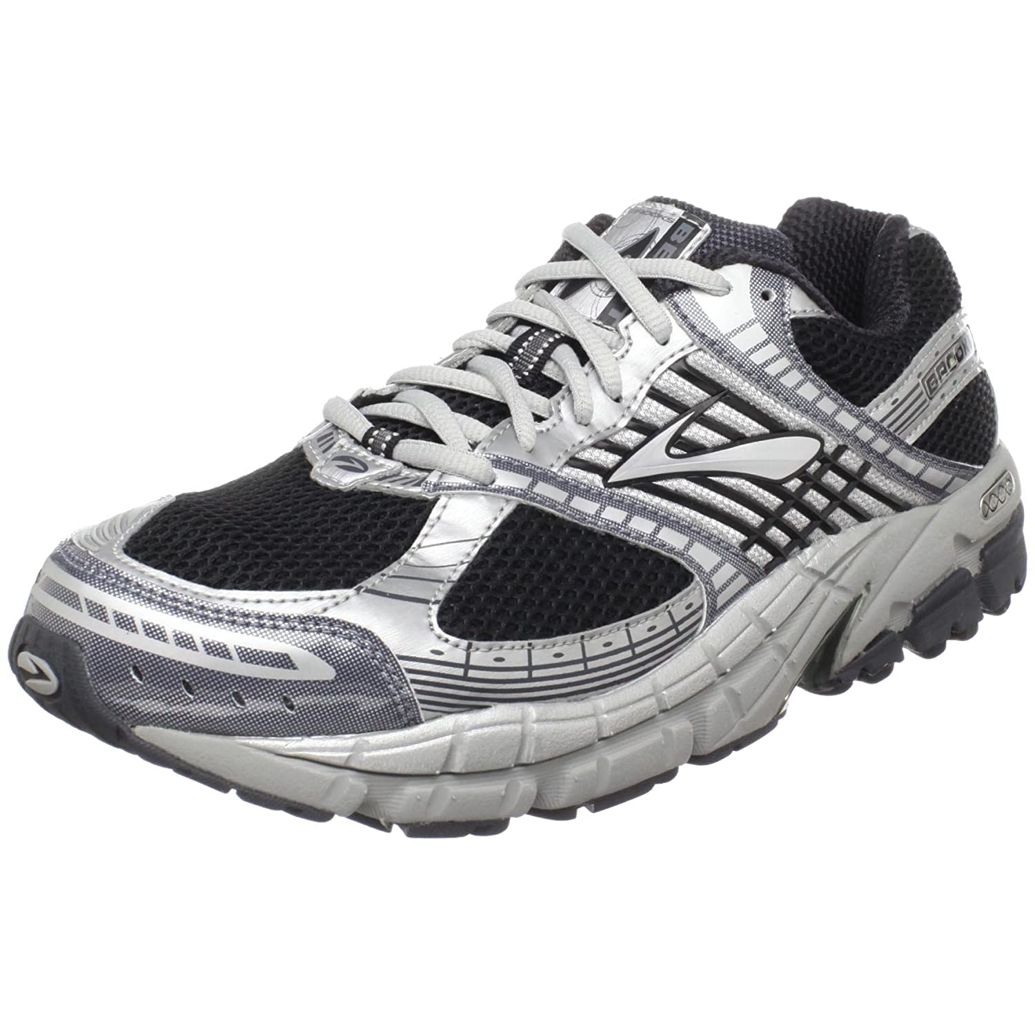 Men S Beast Running Shoe Black And White