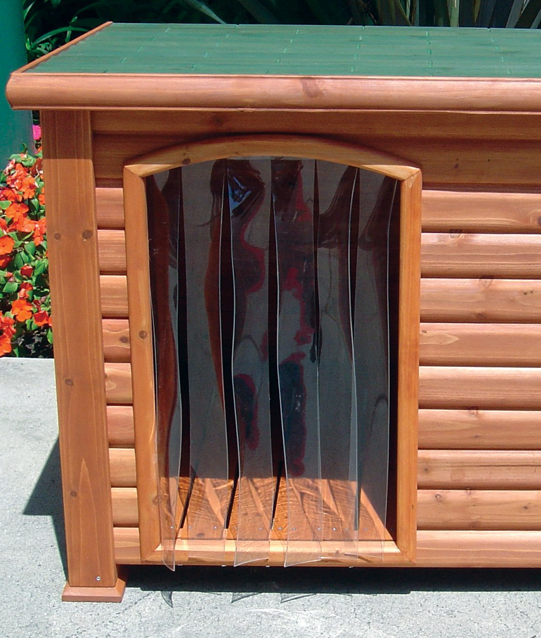 1285 #B34E18 Precision Outback Dog House Door save image Precision Entry Doors 45771090