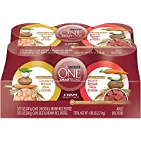 36-Pack Purina ONE Classic Ground Chicken Brown Rice & Beef Dog Food + $10 Gift Card