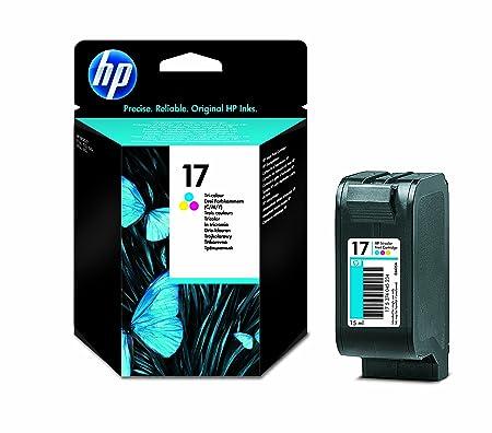 HP N°17 Cartouche d'encre d'origine Jaune, cyan, magenta