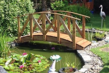 Europa Low Rail Garden Bridge (9ft Europa LR)