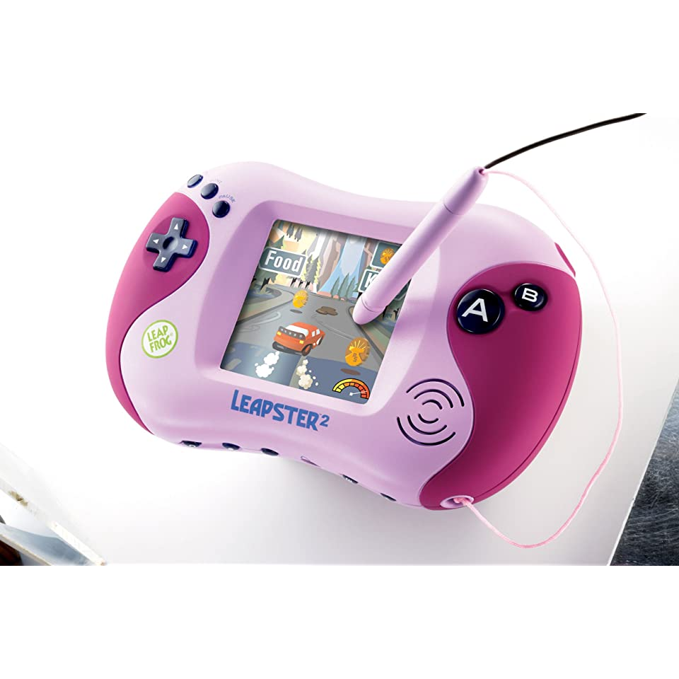 LeapFrog Leapster2 Learning Game System Leap Frog 2 Pink Brand New