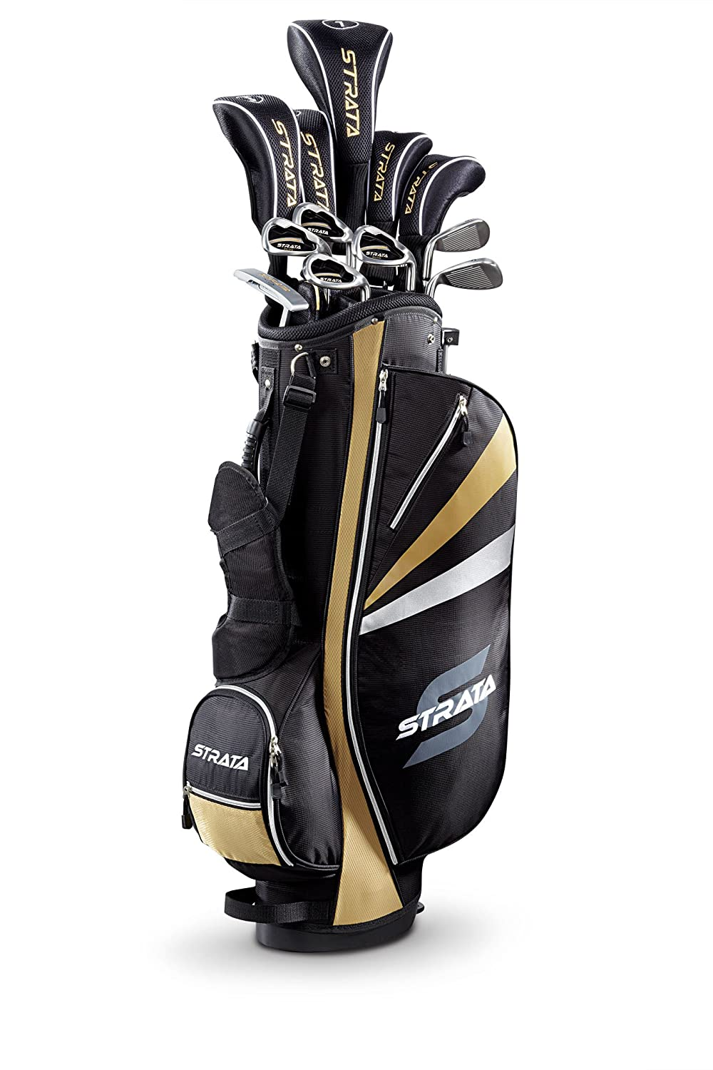 Bộ gậy Golf Callaway Strata Plus Mens Complete Golf Set with Bag, 18-Piece