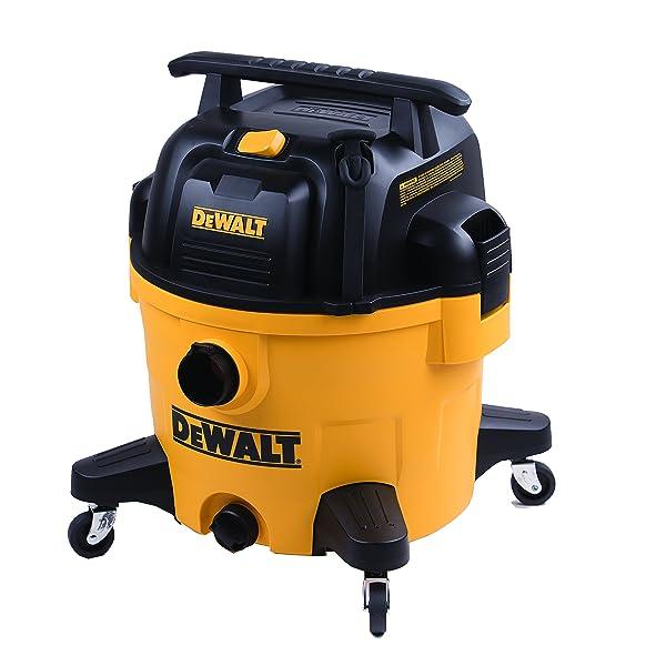 DeWALT 9 Gallon Poly Wet/Dry Vac (Color: Yellow, Tamaño: 9 Gallon)