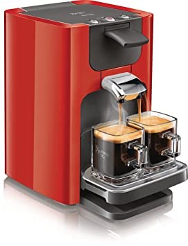 philips senseo hd786382 kaffeepadmaschine w 2 tassen rot us50. Black Bedroom Furniture Sets. Home Design Ideas