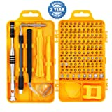 Precision Screwdriver Set Magnetic - Professional 110 in 1 Precision Screw driver Tools Sets, Repair Tool Kit for Mobile Phone/Tablet/Computer/PC/Watch/Camera/Eyeglasses/Other Electronic Devices