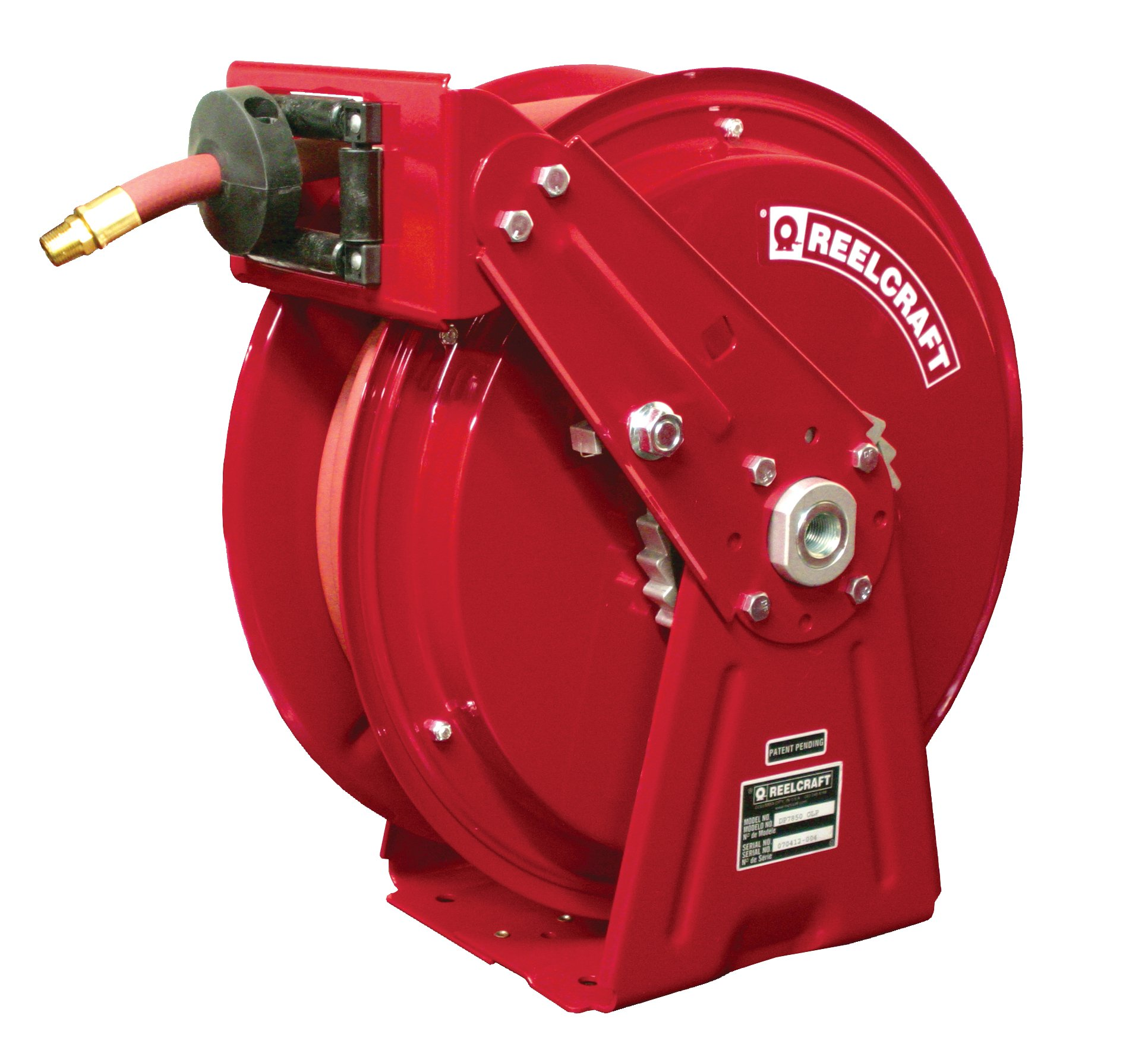 Air Water Spring Driven Reelcraft Hose Reel