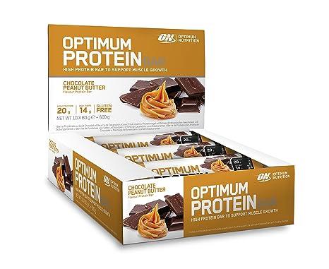 Optimum Nutrition Bar Chocolate Peanut Butter, 10 x 60 g