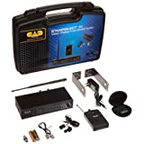 CAD Audio StageSelectIEM Wireless Stereo In-Ear Monitor System with MEB2 Earbuds (Color: Black)
