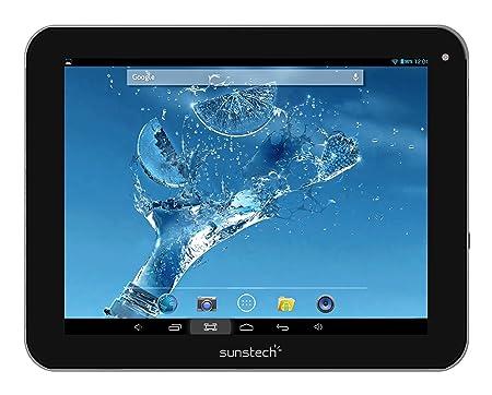 Sunstech TAB87DC BT Tablette HD 20,3cm (8'') avec Wi-Fi, Dual Core 1.2 GHz, 1 Go de RAM, 8 Go de mémoire interne, Android 4.2.2 Jelly Bean Noir