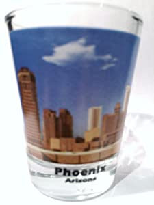 Phoenix, Arizona shot glass