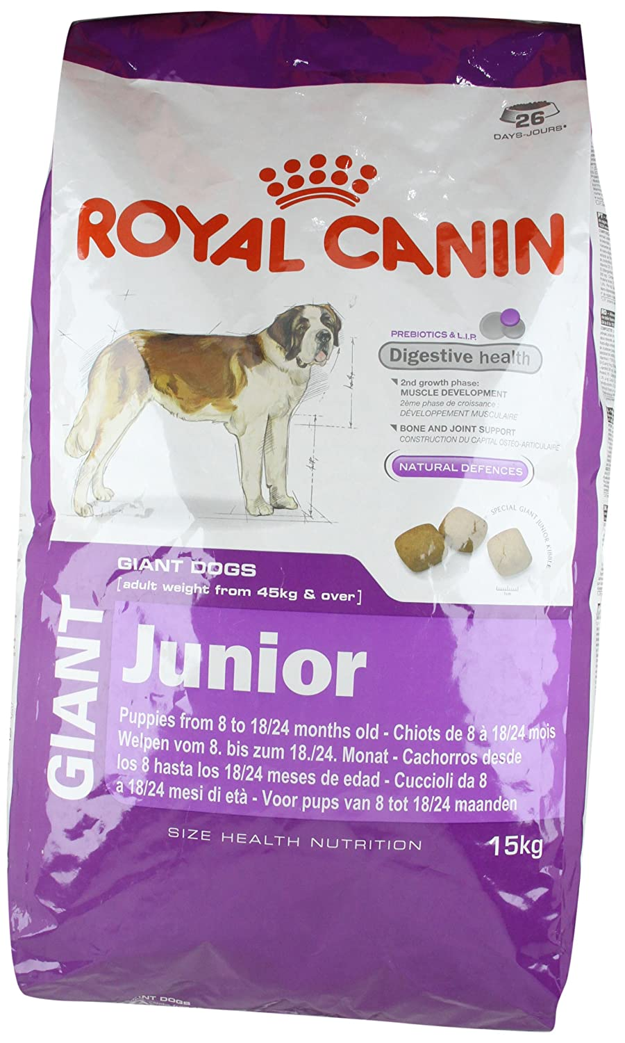 royal canin junior maxi. Black Bedroom Furniture Sets. Home Design Ideas