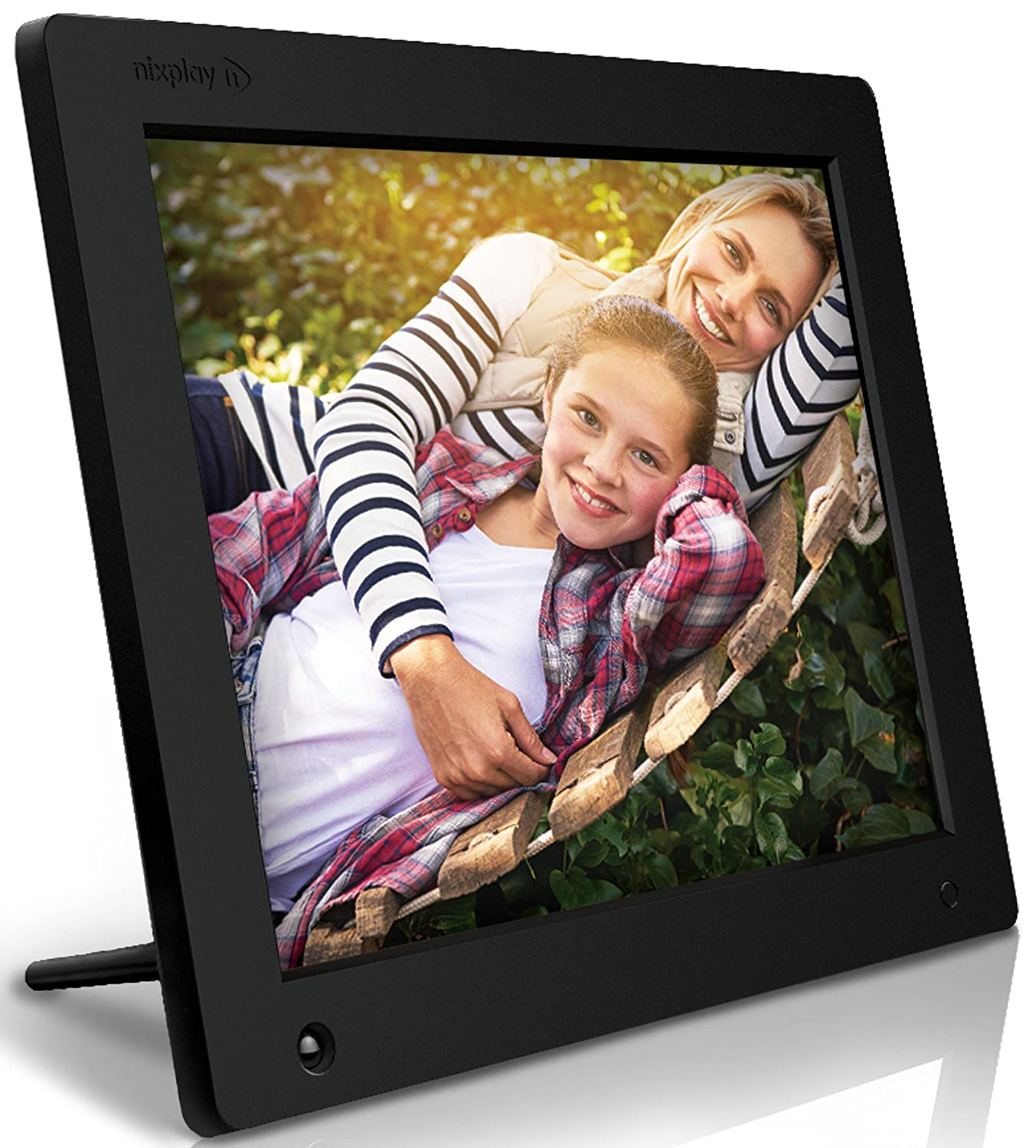 buy nixplay 12 inch wi fi cloud digital photo frame iphone android app email facebook dropbox instagram picasa w12a online at low price in india