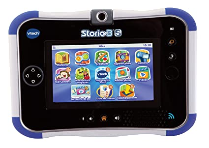 Vtech - 158805 - Jeu électronique - Tablette tactile - Storio 3s - Bleu - Sans Power Pack