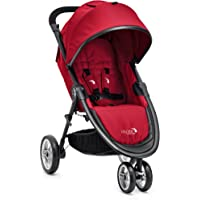 Baby Jogger City Lite Stroller (Red) + Baby Jogger City Lite Accessory Bundle