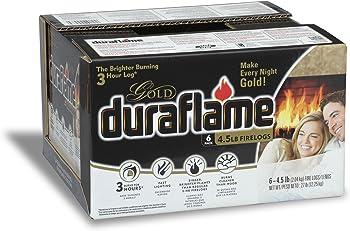 6-Pk. Duraflame 4.5 lb Gold Firelogs