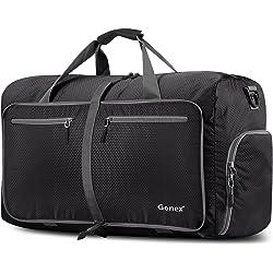 Gonex 60L Foldable Water & Tear Resistant Travel Duffle Bag (Multi Colors)
