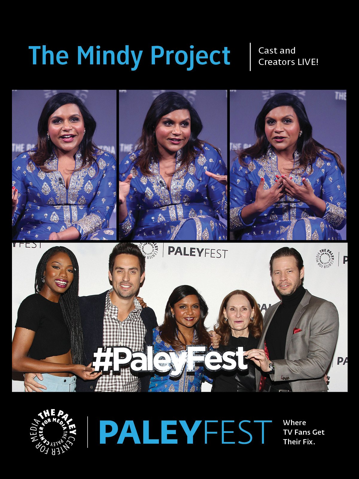 The Mindy Project: Cast and Creators Live at PaleyFest NY 2015