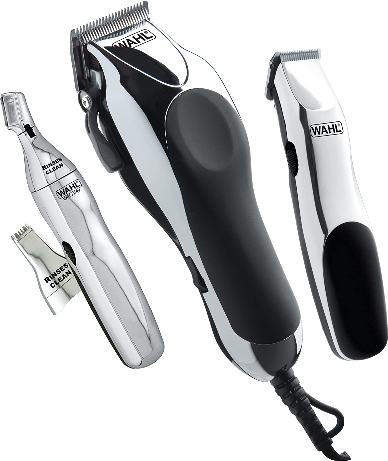 Wahl Professional Hair Cutting Kit 30 Piece Trimmer ...