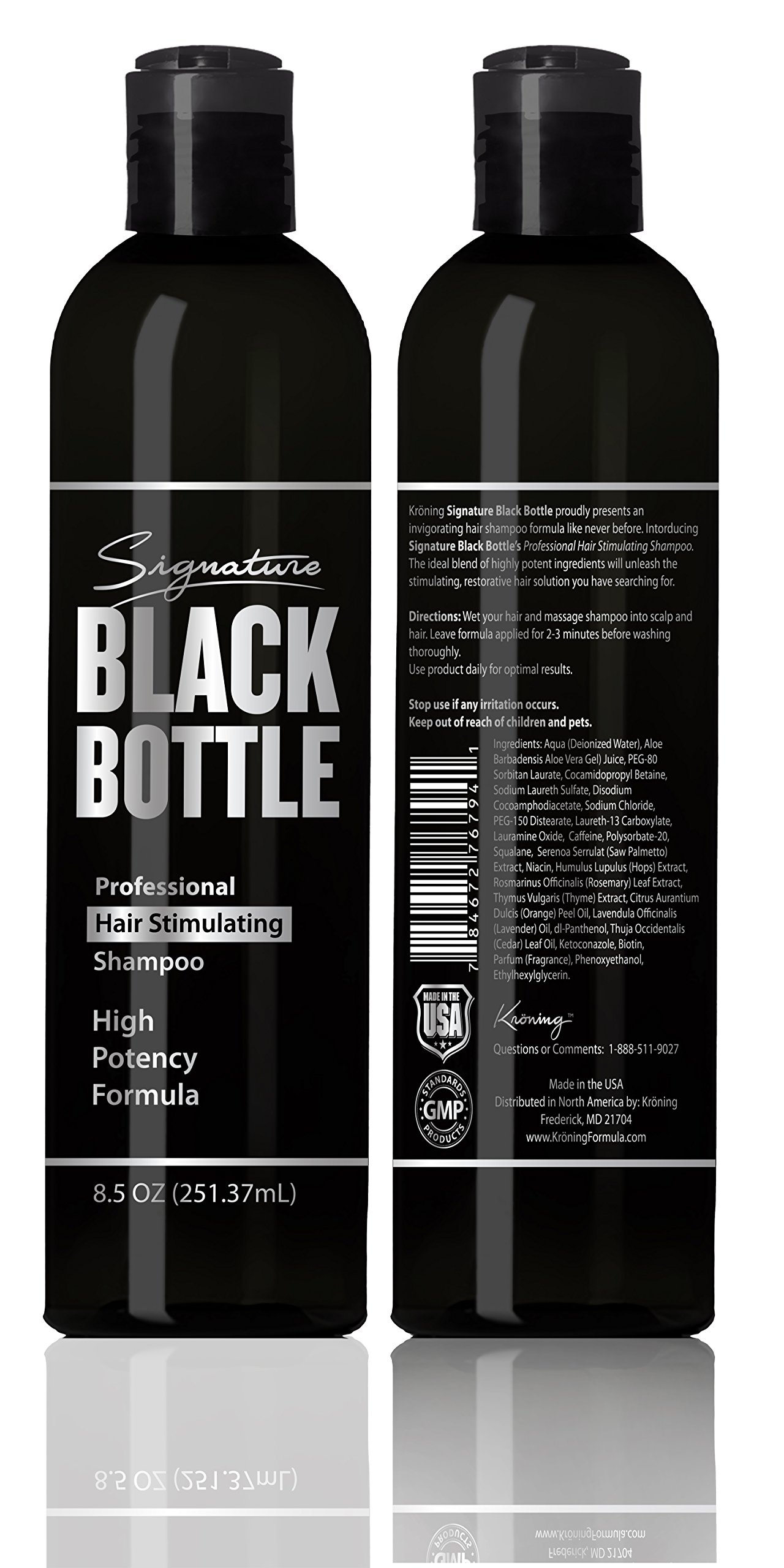 Galleon  Black Bottle Mens Shampoo  Anti Hair Loss