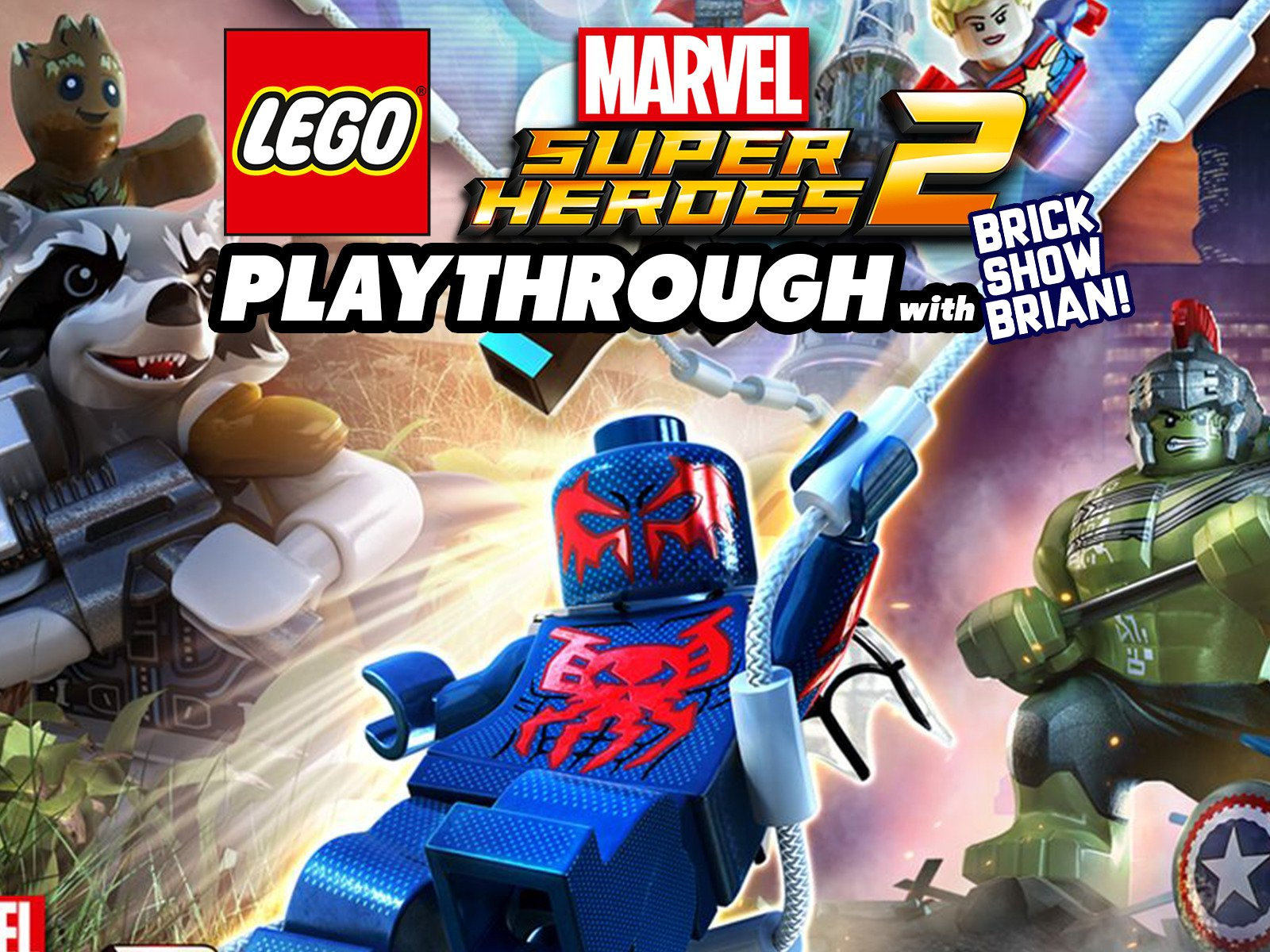 Clip: Lego Marvel Super Heroes 2 Playthrough with Brick Show Brian - Season 1